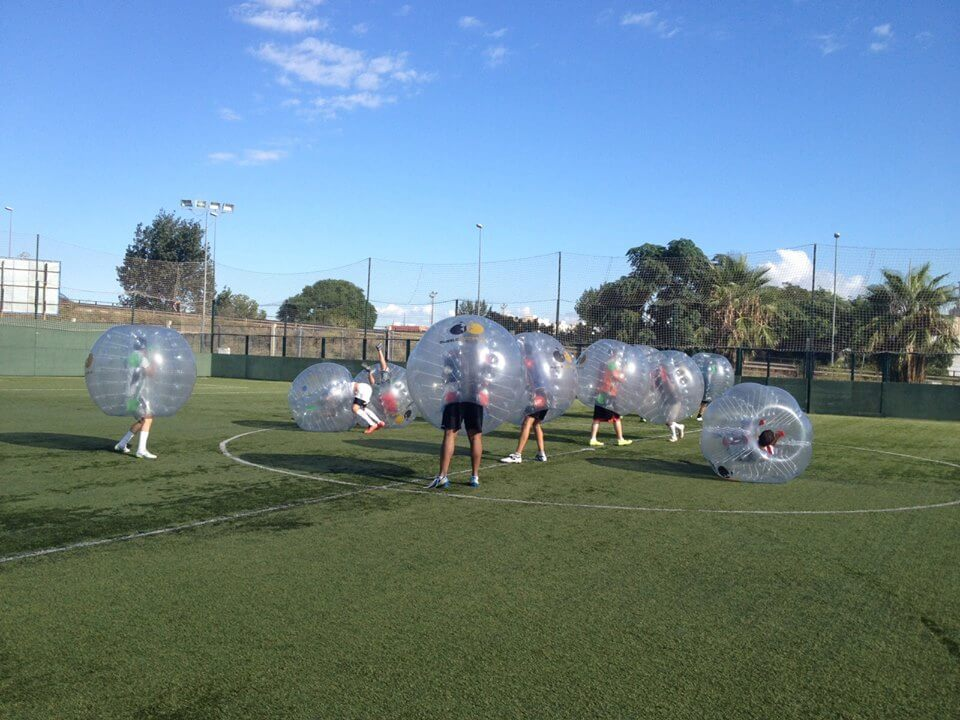 Valencia Bubble Football