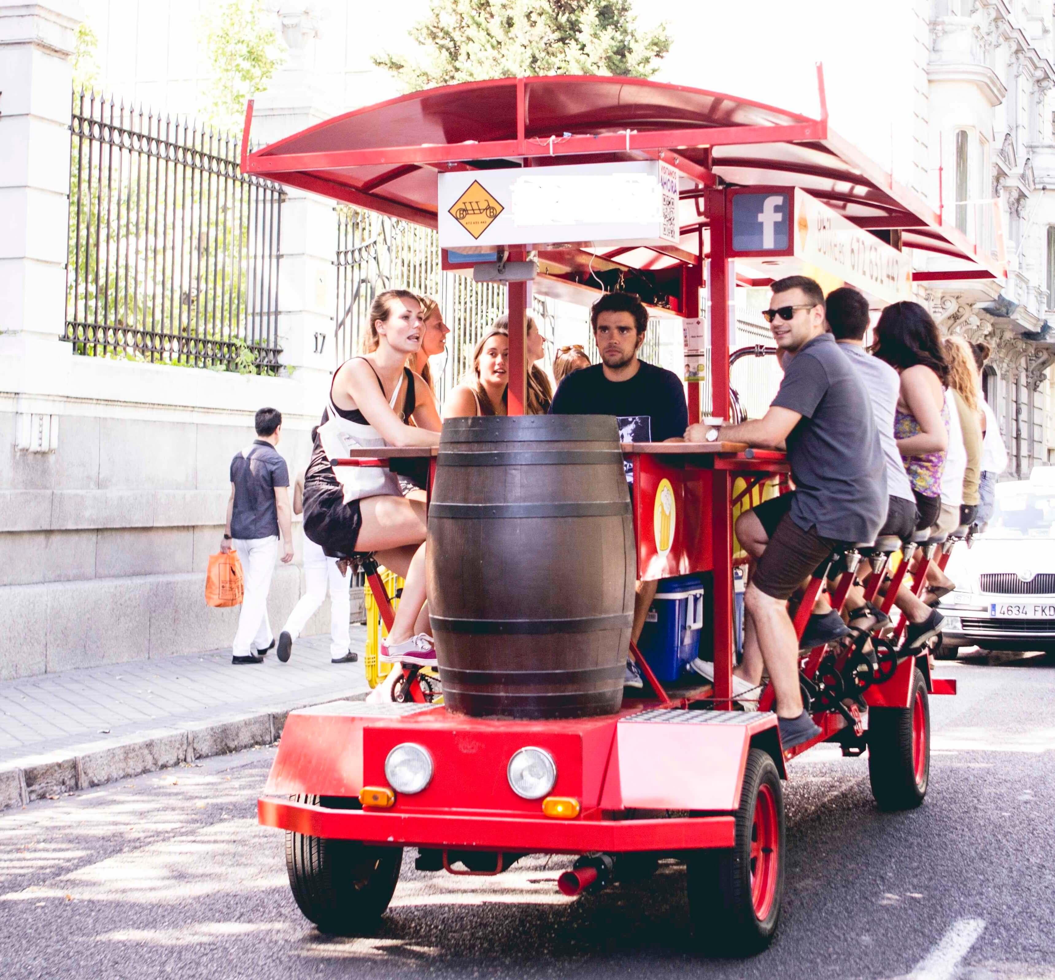 Madrid Beer Bike