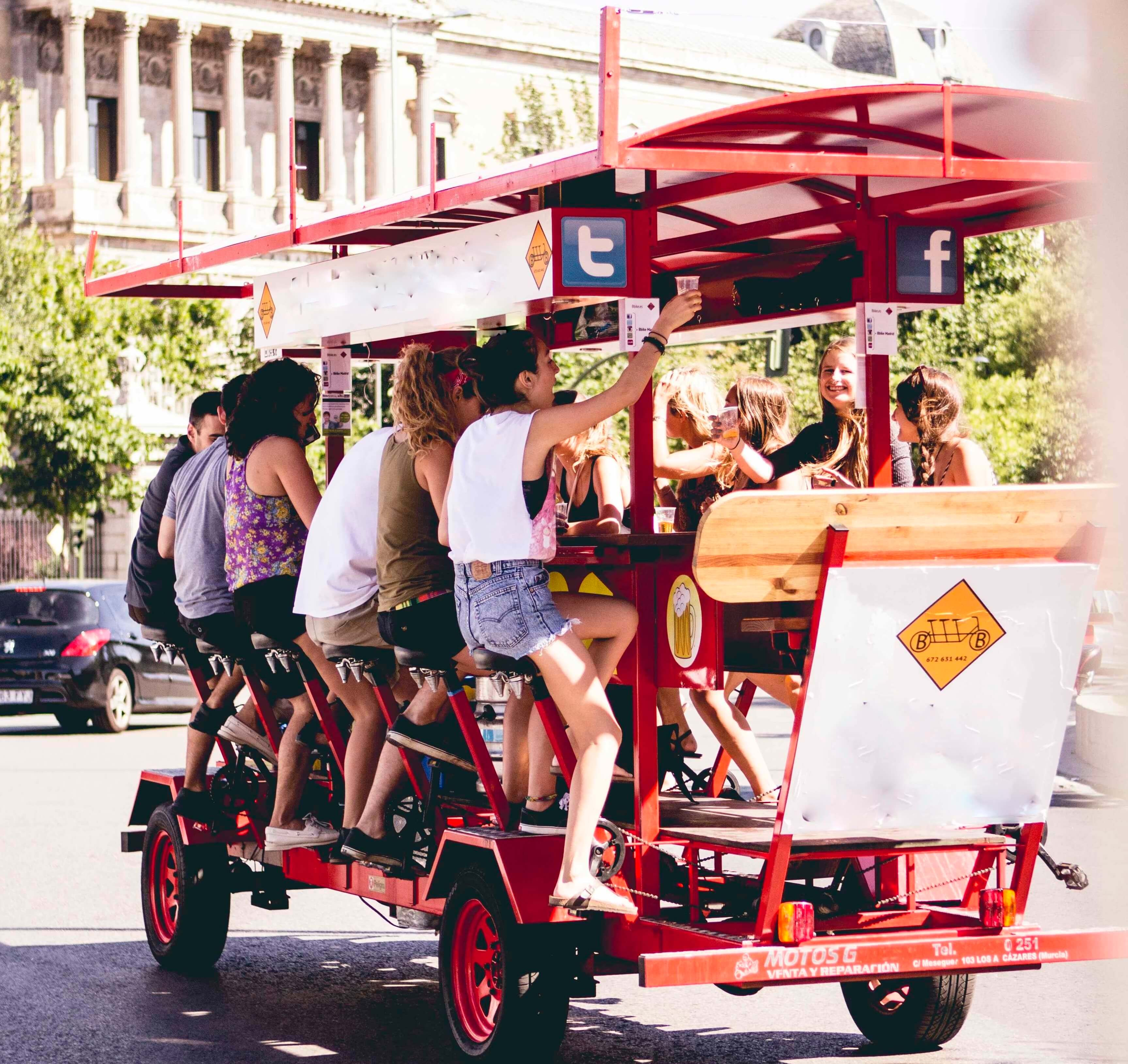 Madrid Sangria Bike