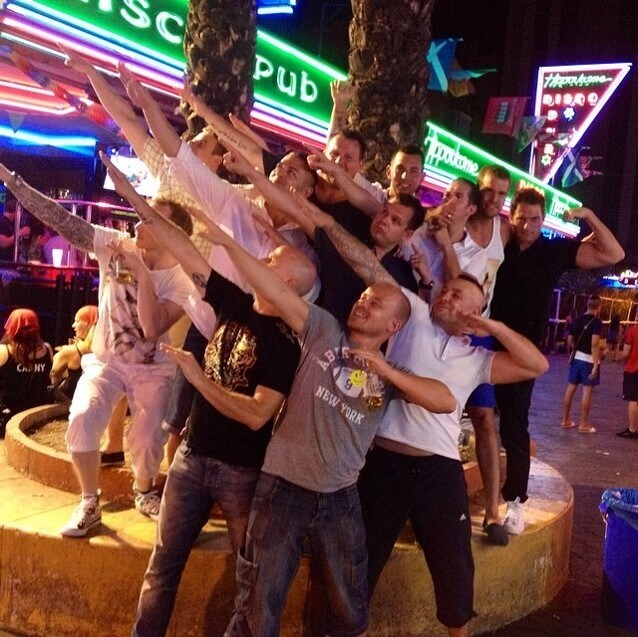 Madrid stag night