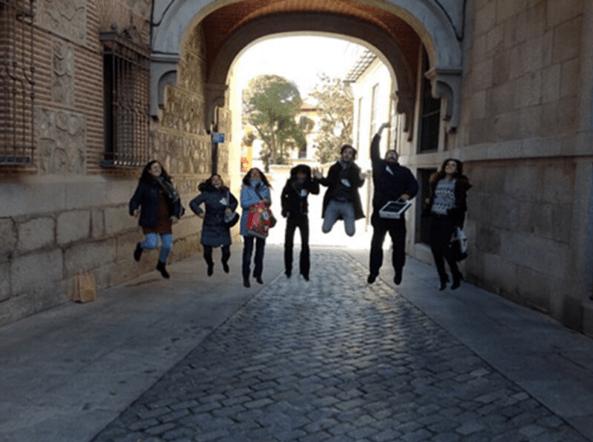 Madrid Tablet Tour & Challenge