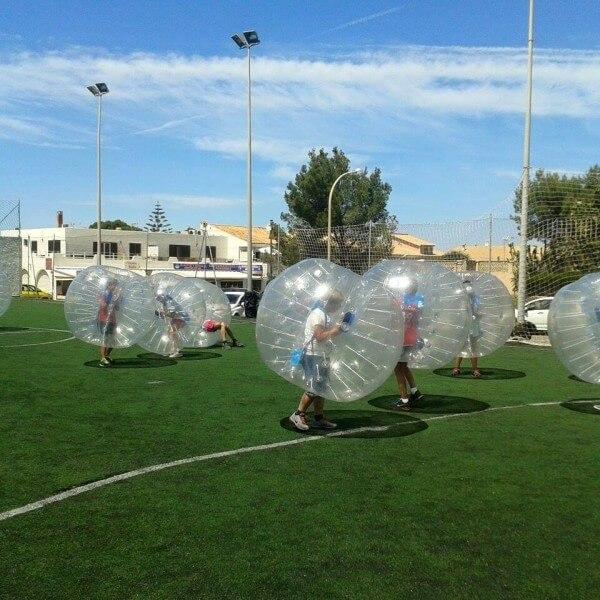 Bubble Football Magaluf