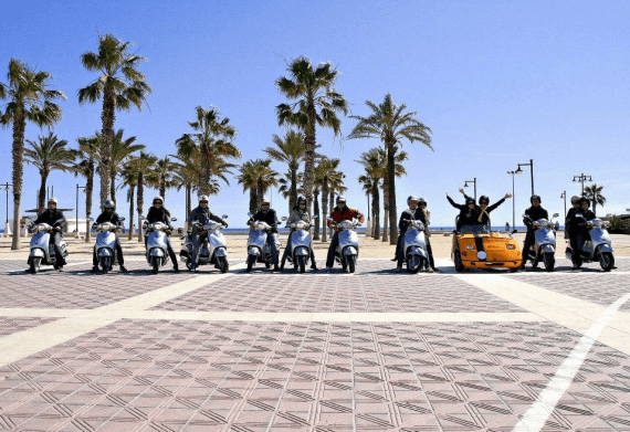 Scooter Tour of Palma Area