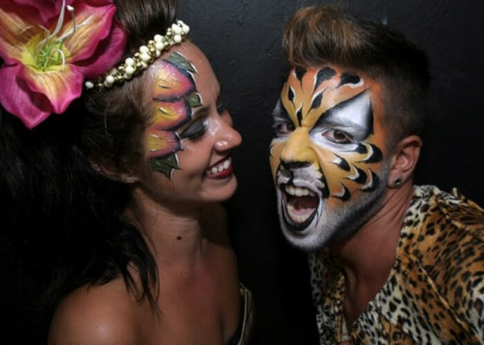 Animal Body Painting