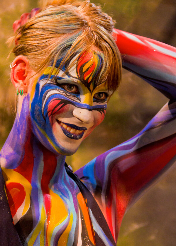 Body Painting Add On