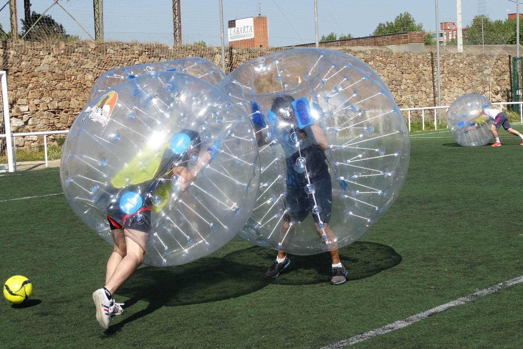 Seville Bubble Football