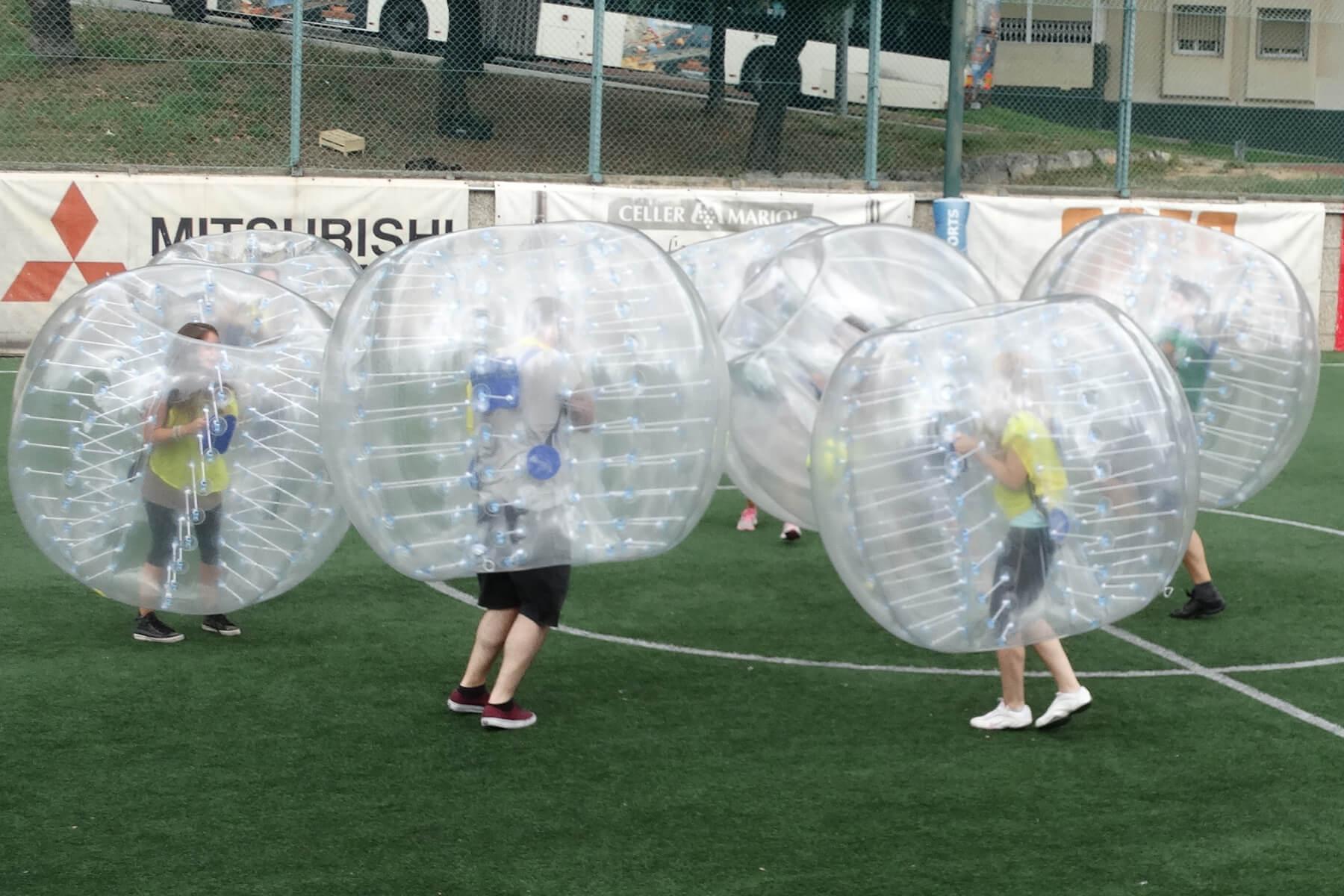 Madrid Bubble Football