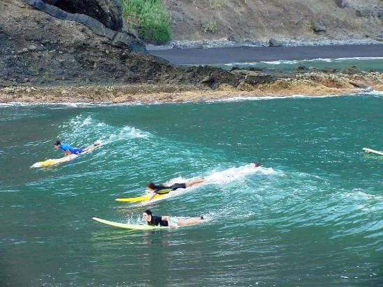 Majorca surfing class