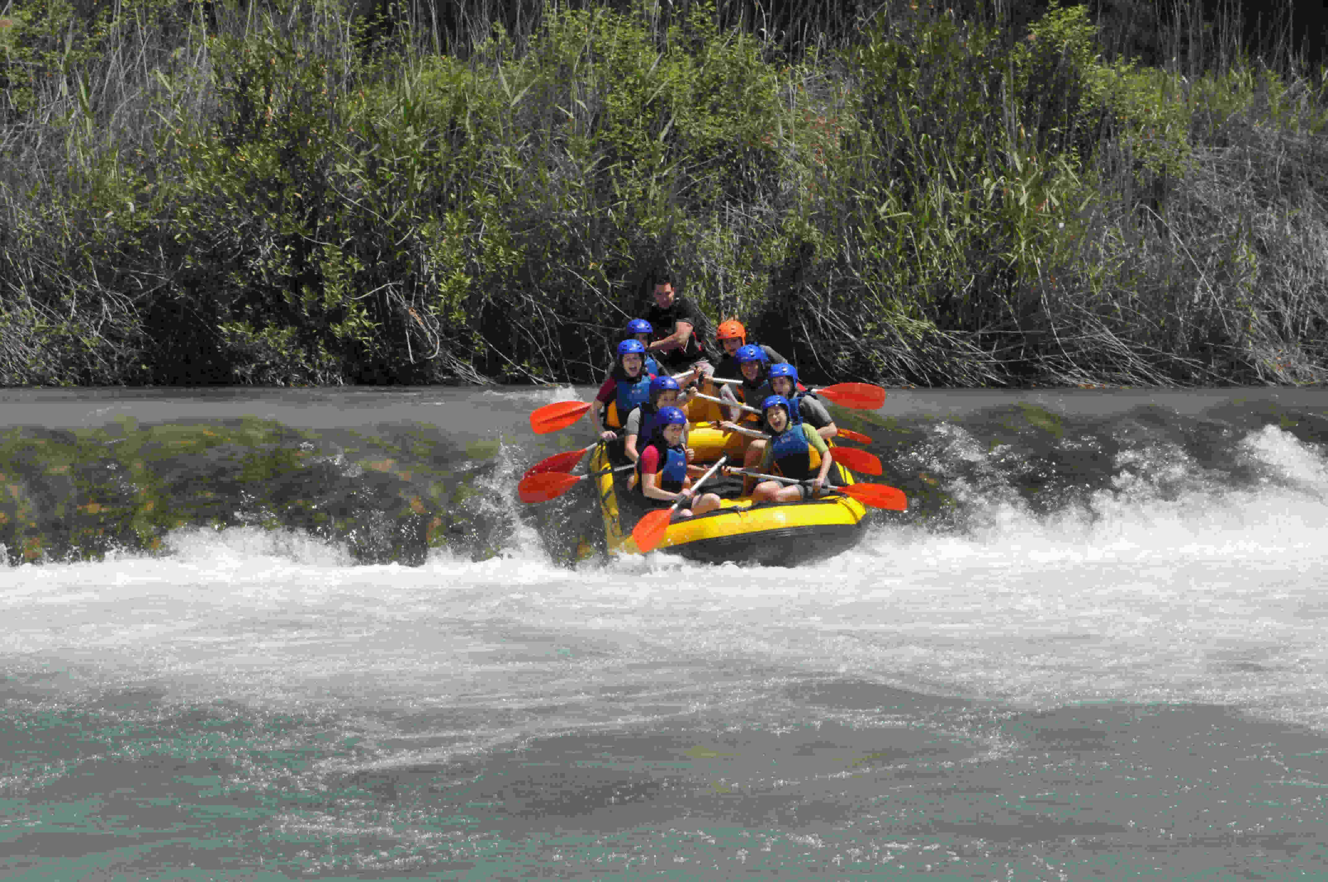Valencia Water Rafting