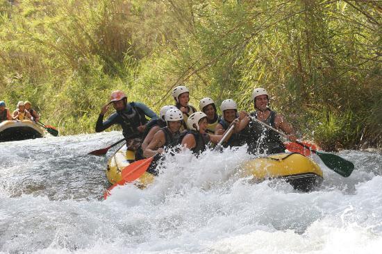 Valencia Water Rafting