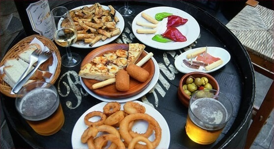Tapas Bar Tour
