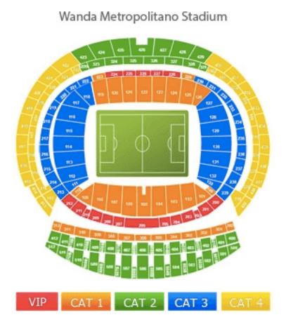wanda metropolitan stadium plan